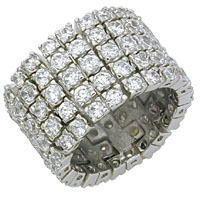 Vintage Design Fashion CZ Ring
