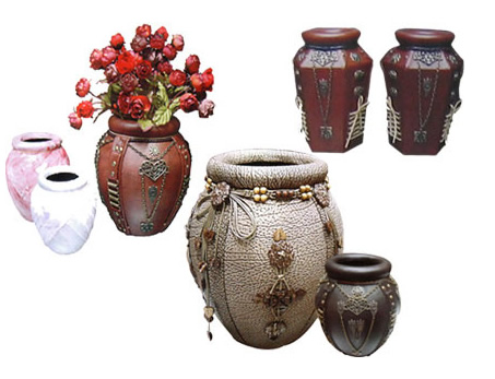 Artificial Leather Vase