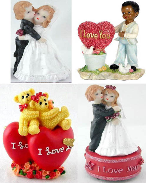 Polyresin Valentines Day Gifts (WK048)