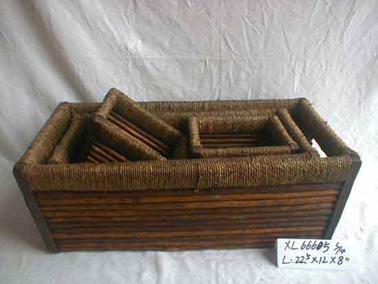 Wicker Basket (S006)