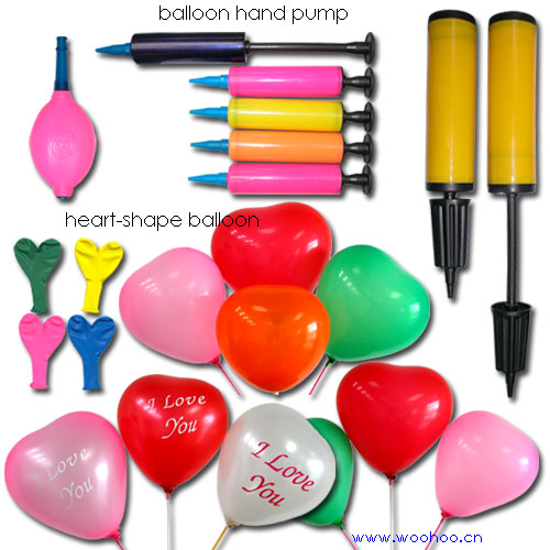 Water-Shape Balloon & Heart-Shape Balloons