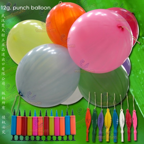 Metallic Balloon/ Punch Balloon