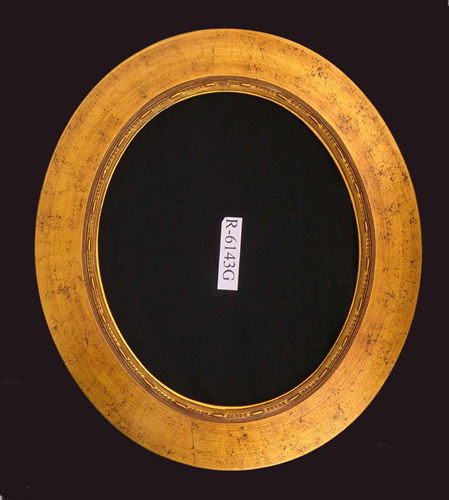 Wood Round Mirror Frame