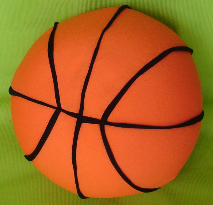 Plush Cushion - Basketball