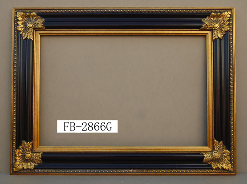 wood square mirror frame