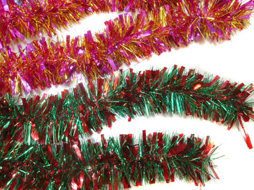 Christmas Tree Decorating With Garland : Christmas garland wreath