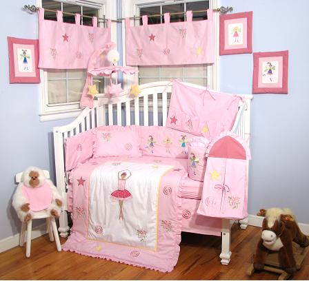 Baby Bedding Set (Dancing Girl), Baby Bedding Set (Dancing Girl ... : baby quilt sets - Adamdwight.com