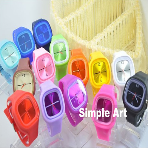 Fashion Silicone Jelly Watch