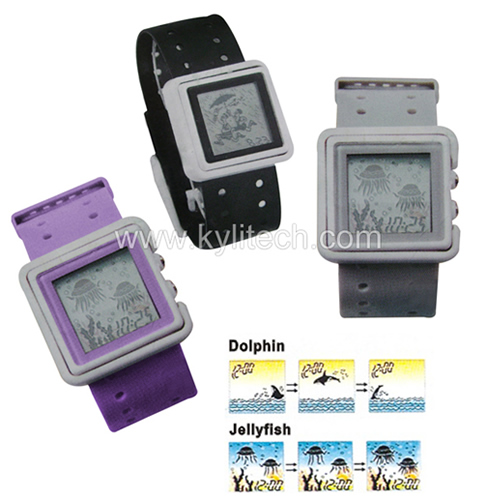 Flashing Digital Sports Watch